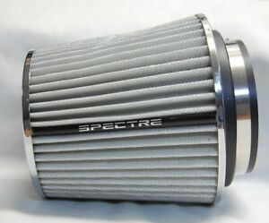 Spectre 8138 White Cold Air Intake Filter 4 3 5 3 102 89 76mm Inlet Id