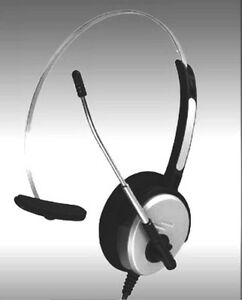 Summer Sale Budget Headset For Polycom Ip300 ip335 Swc103 Mono Voice Tube