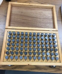 Meyer Model M 6 Minus 84 Piece Pin Gage Set