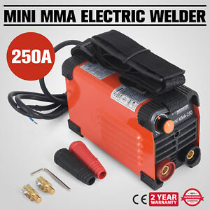 250 Amp Stick Mma Arc Dc Inverter Welder Welding Machine Robust Efficient Good