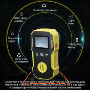 Portable Industrial O3 Gas Test Detector Meter Ozone Analyzer Tester Monitor Usa