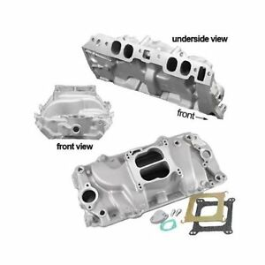 Summit Racing Stage 1 Intake Manifold Chevy Bbc 396 427 454 Fits Oval Port Heads