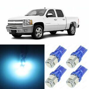 13 X Ice Blue Interior Led Lights Package For 2007 2013 Chevy Silverado Tool