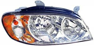 Headlight Assembly Rh pass Fits 02 04 Kia Spectra 323 1110r ac 0k2nb51030b