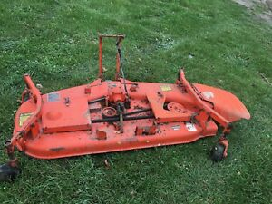 Kubota Tractor B Rc60 b Belly Mower Deck 60 Rc60b B1550 B1750 B2150 B7100