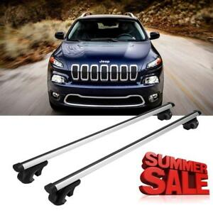 Car Top Roof Rack Cross Bars Kayak Carreir For Jeep Cherokee 2014 2015 2016 2017