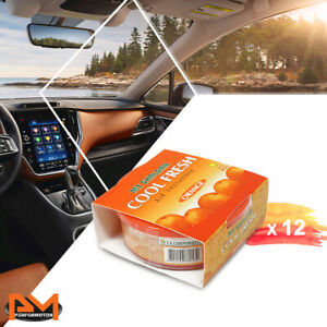 X12 My Shaldan Car office Japan Air Freshener Long Lasting Orange Scent 2 12 Oz