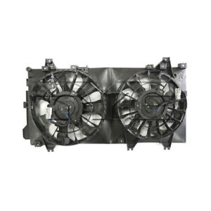 Dual Radiator And Condenser Fan Assembly Fits 14 18 Mazda 3 623250 Tyc