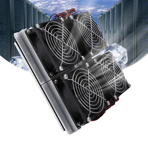 New Semiconductor Cold Peltier Plate Fan Cooler Thermoelectric Refrigeration