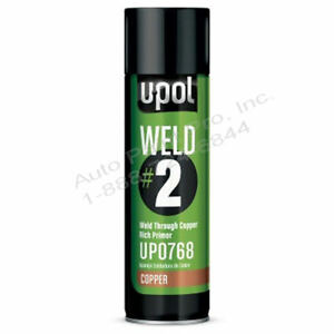 Upol Up0768 Weld 2 Weld Through Copper Rich Primer Auto Paint Restoration
