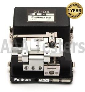 Fujikura Ct 04 Sm Mm High Precision Fiber Optic Cleaver Ct 04