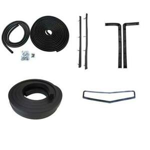 1937 Chevrolet Master Master Deluxe 2dr Business Coupe Body Weatherstrip Kit