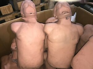 2 Simulaids Brad Manikin Torso Trainer Simulator Emt Cpr Airway Training Nursing