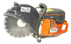 Husqvarna Concrete Saw Model K760 Gas Powered 14 Blade Local Pick Up Only