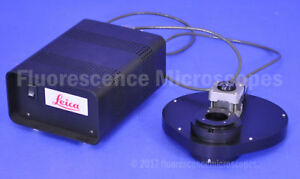 Leica Fluorescence Filter Wheel With Power Supply For Microscope