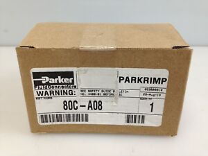 New Parker Parkrimp 80c a08 Crimping Tool Die 1 2 In