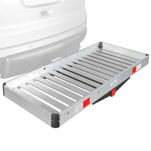 Apex Aluminum Cargo Carrier 48x20 Tray Hitch Mount 2 Class Iii Iv Acc2 4820