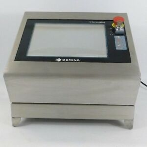 Domino S series Laser Coder engraver S200 Red Laser Tested Working