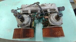 1972 1976 Jensen Healy Dual Stromberg 175 cd2 Carbs Intake Assembly
