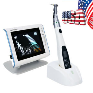 Dental Led Endo Motor Treatment 16 1 Reduction Contra Angle Lcd Apex Locator