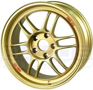 Enkei Rpf1 Wheel 17x9 5x100 35mm Offset Gold Individual Rim For Subaru Wrx Brz