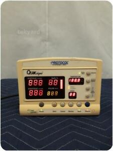 Welch Allyn Protocol Systems Quick Signs 52000 Vital Signs Patient Monitor