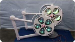 Skytron If22 Ceiling Mount Dual Head Or Surgical Lighting System 65728
