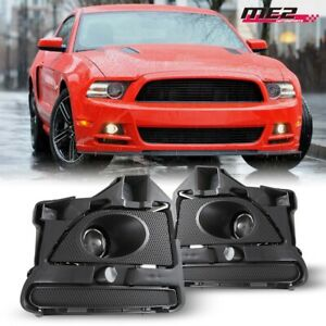 For Ford Mustang 13 14 Factory Bumper Oe Fit Fog Lights Wiring Kit Clear Lens