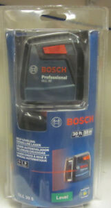 Bosch Professional Gll 30 S Self leveling Cross line Laser Level