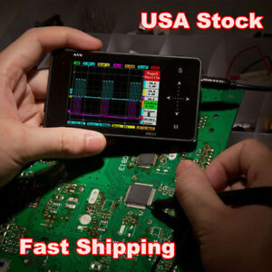 Mini Arm Nano Dso202 Ds202 Handheld Portable Digital Usb Oscilloscope Usa Stock