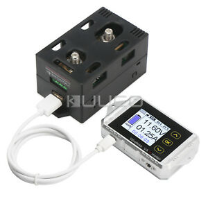 Dc Voltmeter Ammeter Panel Dc 0 100v 200a Digital Meter Wireless Power Tester