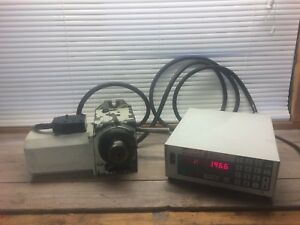 Haas 5c Indexer W Servo Control Box 4th Axis Mill