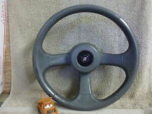 1993 Buick Regal Steering Wheel With Horn Cap Dark Gray
