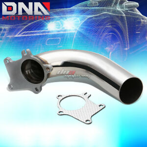 Stainless 2 5 5 Bolt Flange Down Pipe For T3 T4 T03 T04 Turbo Exhaust Gasket