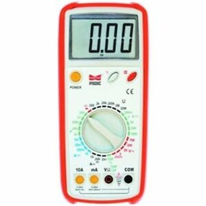 Hy8200c Digital Multimeter Temperature Probe 5 in 1 Compact Electronic Tool