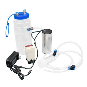 Portable 2l 1 2gal Electric Impulse Type Milking Machine Goat Sheep Vacuum Pump