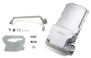 Holley Oil Pan Engine Swap Aluminum Natural 5 1 2 Quarts Chevy 4 8 5 3 6 0l Each