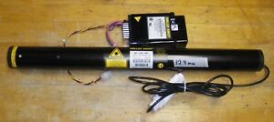 Melles Griot Hene 632nm 05 lhr 991 With Ps 05 lpm 824 065 12vdc Tested 12 4mw