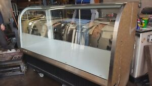 6 Euro Bakery Display Case Dry Non refrigerated Federal Ecgd 77 Curved Glass