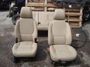 2006 Pontiac Torrent Tan Leather Heated Front Rear Seats Interior