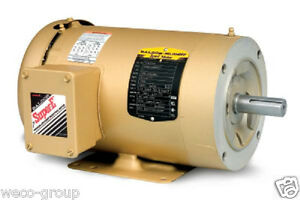 Cem3554 1 1 2 Hp 1760 Rpm New Baldor Electric Motor Old Cm3554