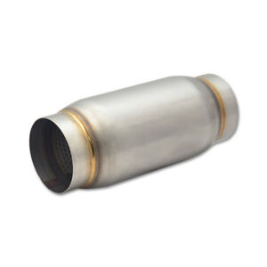 Vibrant Power 1769 3 Inch Noise Reduction Stainless Steel Race Exhaust Muffler