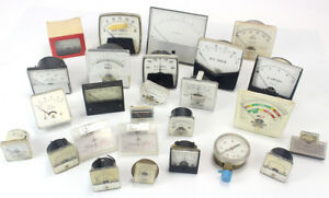 Electronic Meters gauges Lot Of Mixed Items 26 Total