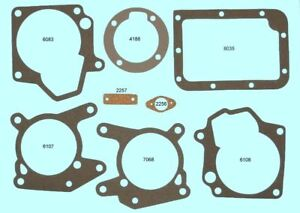 New 1949 54 Ford With Overdrive Manual Transmission Gasket Set B2a 7153 B
