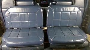 1987 Cadillac Deville Fwd Series 75 Limousine 2nd Row Limo Seat Assembly