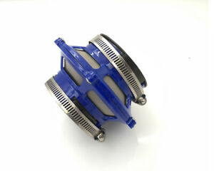 3 Bypass Valve Filter Cold Air Short Ram Intake Induction Euro Jdm Blue