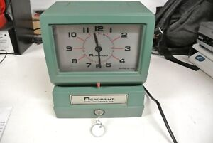 Acroprint 150nr4 Time Clock Punch Stamp Day date W key New Ribbon