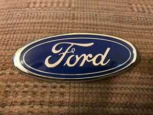 Nos 1989 1997 Ford Probe Front Grill Grille Or Trunk Decklid Oval Emblem New