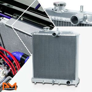 Lightweight Full Aluminum 32mm Radiator For 92 00 Honda Civic Del Sol Mt Manual
