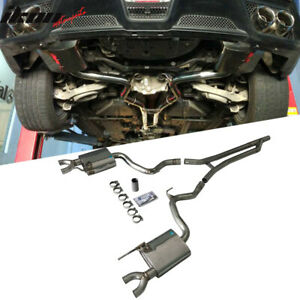 Fits 15 17 Ford Mustang Ecoboost 2dr 2 3t P Style Catback Exhaust Kits